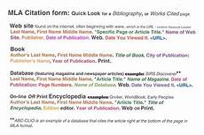 Mla Source Cite How To Cite In Mla From Website
