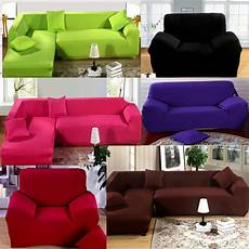 2 Sofa And Loveseat Slipcover 3d Image by 1 2 3 Seater Sofa Slipcover Stretch Protector Soft