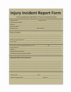 Project Management Incident Report Template Incident Report Template