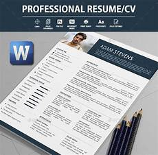 Word Professional Templates 26 Word Professional Resume Template Free Download