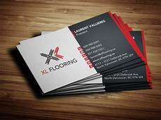 Business Card Card Design Business Card Design For Xl Flooring Solocube Creative