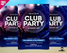 Club Flyer Maker Online Free Download Free Psd Flyer For Club Party Psddaddy Com