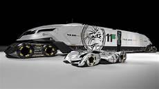 autonomous racing transport rig hauler or cargo carrier