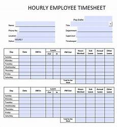 hourly time sheet 8 sample daily timesheet templates sample templates