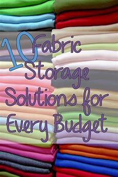 10 fabric storage ideas for all budgets you put it up