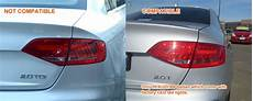 Audi A4 Prnds Lights Clear Red 3d Led Stripe Lights For Audi A4 B8 4d