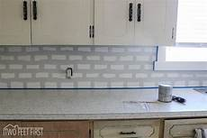 cheap kitchen tile backsplash got 22 to spare that s all she paid for this stunning