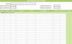 Cheque Record Book Format Printable Checkbook Register Template Excel Accounting124