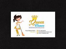Business Cards For Cleaning Services Masculine Professional Cleaning Service Business Card
