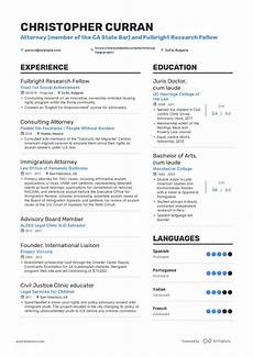 Resume Example Attorney Resume Example And Guide For 2019