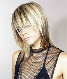 frisuren aschblond mittellang hair with streaks or lowlights