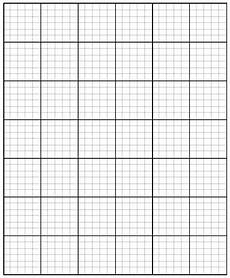 Free Downloadable Graph Paper 5 Printable Large Graph Paper Templates How To Wiki