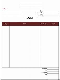 payment receipt template word receipt templates 14 free printable word excel pdf