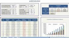 Excel Retirement Calculator Retirement Calculator June 2012