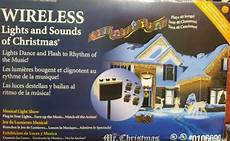 Ge Proline Wireless Lights And Sounds Of Christmas Mr Christmas Ge Pro Line Wireless Lights Sounds Of