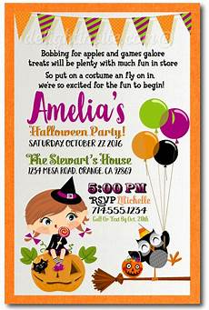 Costume Party Invites Kids Halloween Costume Party Invitations Halloween Theme