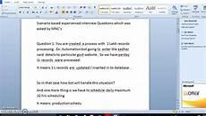 Scenario Interview Rpa Blueprism Scenario Based Interview Questions And