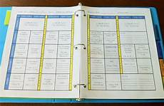 Make Your Own Weekly Planner The Teacher How To Create Your Own Teacher Binder