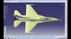 Jet Design Catia V5 Tutorial How To Design An Aircraft On Catia F16