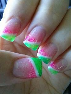 Light Pink And Green Nails 65 Best Green And Pink Nail Art Designs