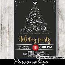 Black And White Christmas Invitations Company Holiday Party Invitations Black White Christmas