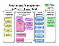 Project Management Charts And Diagrams Programme Management Flow Chart