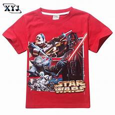 wars clothes for summer cotton tees 2016 boys wars clothing t shirt
