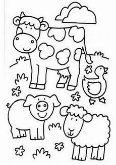Malvorlage Bauernhof Kostenlos Ausmalbilder Kleinkinder Kostenlos Malvorlagen Zum