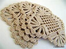 crochet coaster pattern shabby chic decor diy gift crochet