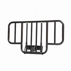 drive no gap half length side bed rails with brown vein