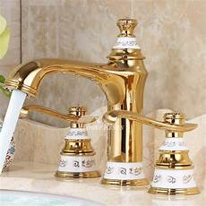 Luxury Kitchen Faucets Luxury Bathroom Faucets Polished Brass Widespread 2 Handle
