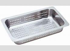 Blanco Performa MicroEdge 1 3/4 Medium Reverse Bowl Inset/Flushmount Sink  Stainless Sinks