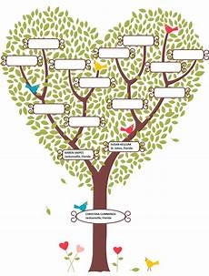 Family Tree Templates Online Blank Family Tree Template Cyberuse