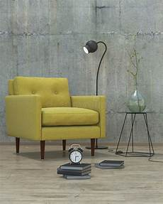 Air Sofa Yellow Blue 3d Image by Modern Interior With Yellow Sofa Background 3d Stock