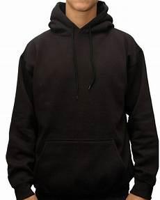 Blank Black Hoodie Template Black Pullover Blank Fleece Hoodies For Men Buy Pullover