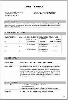 Free Resume Download Pdf 10 Fresher Resume Templates Download Pdf
