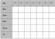 Blank Revision Timetable Gcse Revision Timetable Google Search Gcse Revision