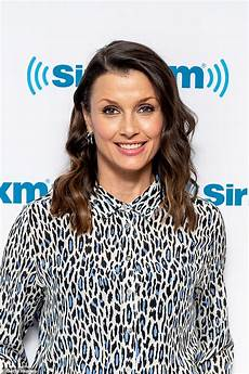 bridget moynahan dons two chic outfits as she promotes her