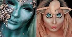 Theatrical Makeup Artist This Makeup Artist Can Become Anyone Bored Panda