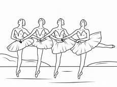 Ausmalbilder Me Malvorlagen Musikunterricht 606 Swan Lake Ballet Coloring Page Schwanensee Ballett