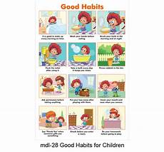 Good Habits Chart For School Play School Class Room Decoration And Wall Decoration And