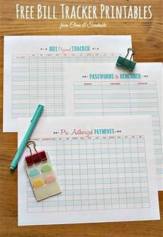 Best Way To Make A Checklist How To Organize Bills Free Printables Printable Budget