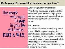 Ability To Work Independently And As Part Of A Team 88 Flight Attendant Interview Questions And Answers