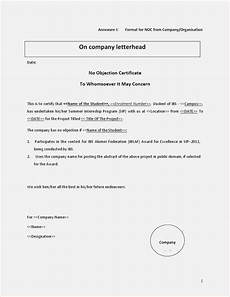 Noc No Objection Certificate Property 2011