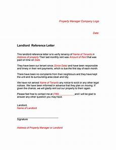 Tenant Letter Of Recommendation 40 Landlord Reference Letters Amp Form Samples ᐅ Templatelab