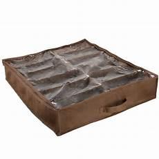everyday home 12 pair bed shoe storage organizer