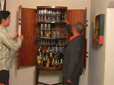 wall mounted liquor cabinets for small spaces