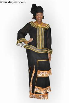 African Wrapper Designs Black Senegalese African Wrapper Attire Dp2483 Others