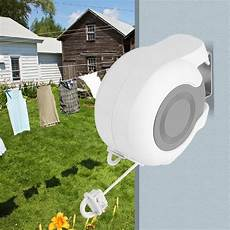 13m clotheslines wall mounted retractable clothes