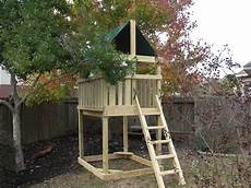 Playset Designs Triton Playset Diy Wood Fort And Swingset Add On Plans